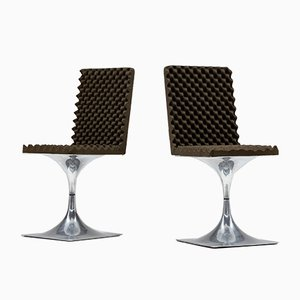 Model 400 Side Chairs by Roger Tallon for Edition Lacloche, 1960s, Set of 2