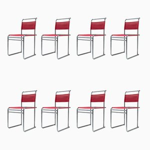 B40 Esszimmerstühle von Marcel Breuer für Tecta, 1980er, 8er Set