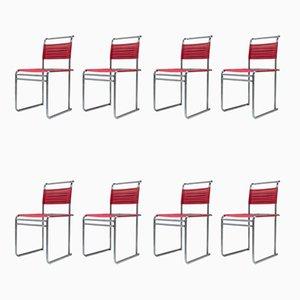Sillas de comedor B40 de Marcel Breuer para Tecta, años 80. Juego de 8