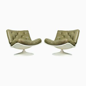 F976 Lounge Chairs by Geoffrey Harcourt for Artifort, 1960s, Set of 2
