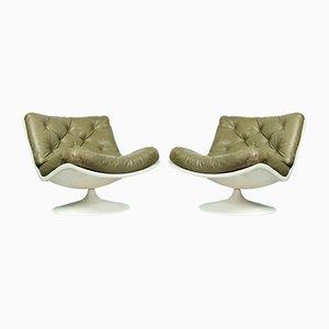 F976 Sessel von Geoffrey Harcourt für Artifort, 1960er, 2er Set