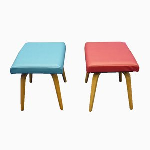 Stools from Pforzheimer Bugholz Möbel, 1950s, Set of 2