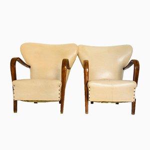 Italienische Sessel von Guglielmo Ulrich, 1950er, 2er Set