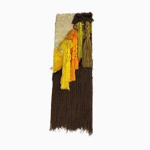 Große moderne Makramee Wandteppiche von Desso, 1970er