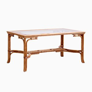 Vintage Bamboo Dining Table from Angraves