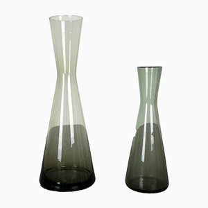Vintage German Turmalin Vases by Wilhelm Wagenfeld for WMF, 1960s, Set of 2