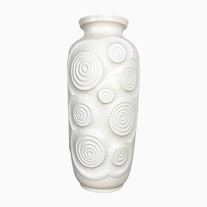 Große deutsche Op-Art getöpferte Bodenvase von Bay Keramik, 1970er