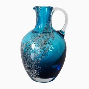 Vintage Florida Krug Vase von Heinrich Löffelhardt für Schott / Zwiesel