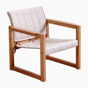 Chaise Safari Diana Mid-Century par Karin Mobring pour Ikea