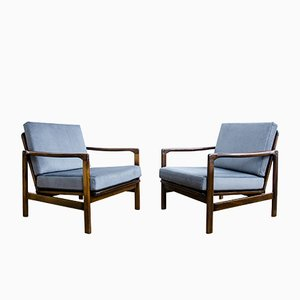 B-7752 Armchairs by Zenon Bączyk, 1960s, Set of 2