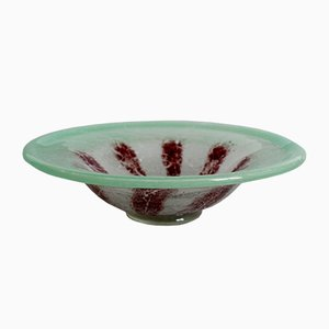 Vintage Glass Ikora Bowl from WMF