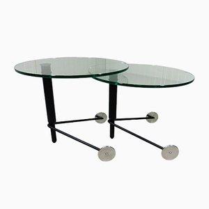 Tables d'Appoint Vintage de Rolf Benz, Set de 2