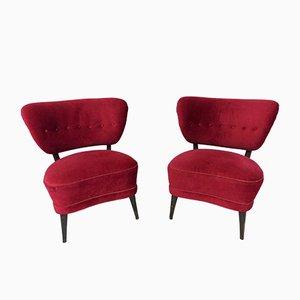 Vintage Sessel von Otto Schulz, 2er Set