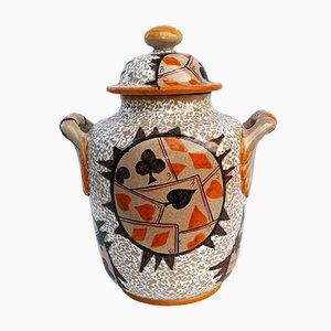 Vase de Deruta Mari, 1950s