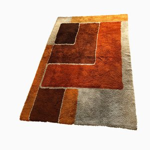 Large Vintage Dutch High-Pile Rug from Desso, 1970s