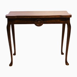 Antique Mahogany Console Table, 1860s