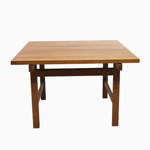 Tavolino da caffè in quercia di Hans J. Wegner per PP Møbler, anni '60
