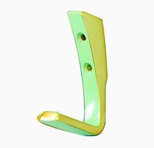 Vintage Austrian Painted Aluminum Wall Hook, 1970s