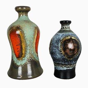 Deutsche Keramikvasen von Dümmler und Breiden, 1950er, 2er Set