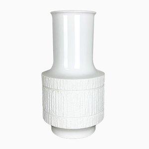 Grand Vase Op-Art en Porcelaine par Richard Scharrer pour Thomas, Allemagne, 1970s
