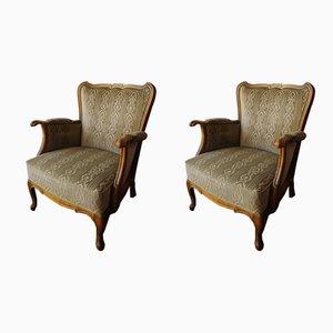 Vintage Armlehnstühle, 2er Set