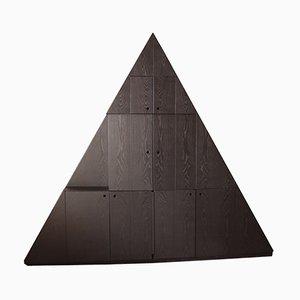 Vintage Triangolare Sideboard von Ferdinando Meccani für Meccani Arredamenti