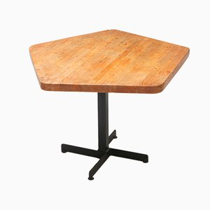 Les Arcs Pentagonal Side Table by Charlotte Perriand, 1960s