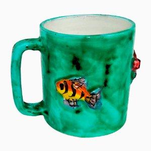 Ceramic Mug from Scotto Vietri, 1950s