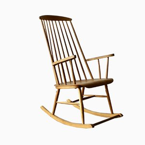 Vintage Madmoiselle Rocking Chair by Ilmari Tapiovaara