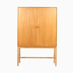 Armario danés de roble de Thygesen & Sørensen para HG Furniture, años 60