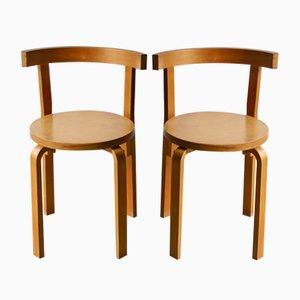 Vintage Model 68 Dining Chairs by Alvar Aalto for Artek, Set of 2