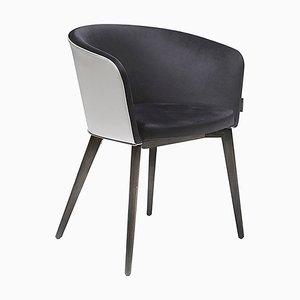 Esszimmerstuhl aus Leder von Jacobo Ventura