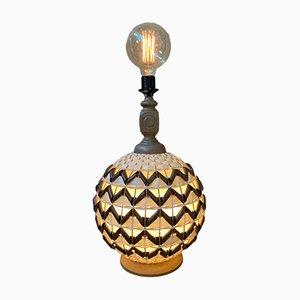 Lámpara de pie Ball danesa Mid-Century de ME