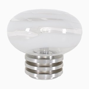 Spiral Glass Table Lamp from Doria Leuchten, 1970s
