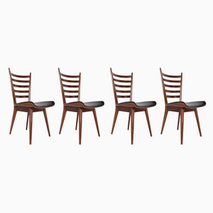 Esszimmerstühle von Cees Braakman für Pastoe, 1960er, 4er Set
