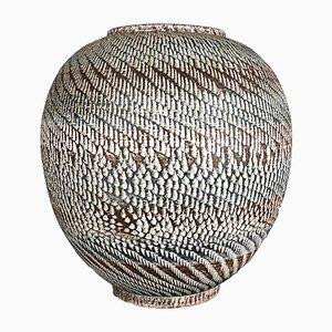 Große deutsche Bodenvase aus Keramik von Dümler & Breiden, 1950er