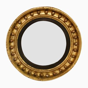 Antique Regency Gilt Convex Mirror from Thomas Fentham