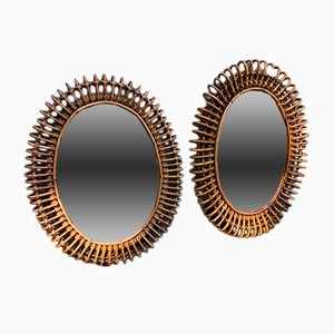 Mirrors from Vittorio Bonacina, 1950s, Set of 2