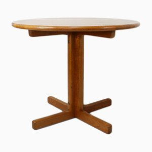 Table de Salle à Manger Ronde Vintage en Teck de Tarm Stole og Møbelfabrik
