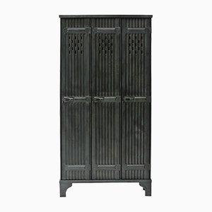 Vintage Industrial Locker Cabinet from Strafor