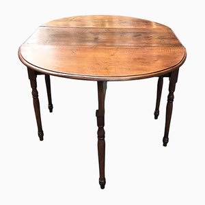 Antique Walnut Extendable Dining Table, 1800s