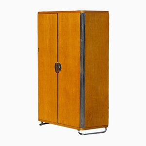 Vintage Tubular Steel Cabinet from Vichr