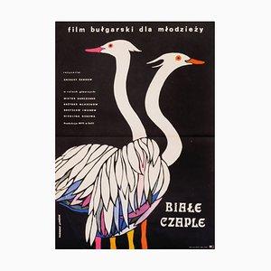 Die Vögel Kommen Zu Uns Geflogen Poster von Zuzanna Lipinska, 1972