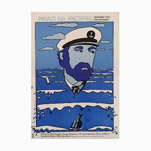 Polish Pirates Of The Pacific Poster by Neugebauer, 1970s
