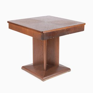 Mesa de bar vintage de madera