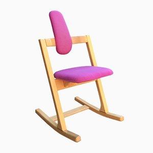 Rocking Chair Pendulum Vintage par Peter Opsvik pour Stokke, Norvège, 1990s