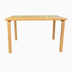 Tavolo da pranzo di Alvar Aalto per Artek, Finlandia, anni '70