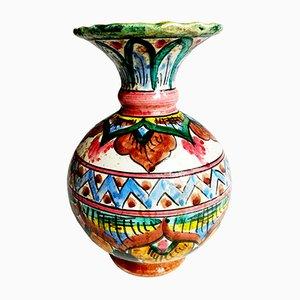 Vintage Vase aus Terrakotta, 1950er