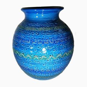 Keramikvase von Bitossi, 1950er