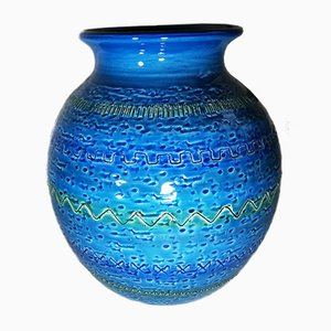 Vaso in ceramica di Bitossi, anni '50